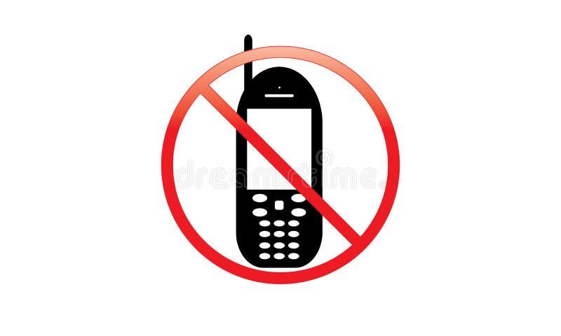 Vieux téléphone portable - icône de téléphone portable - vieux téléphone portable de clavier numérique illustration libre de droits
