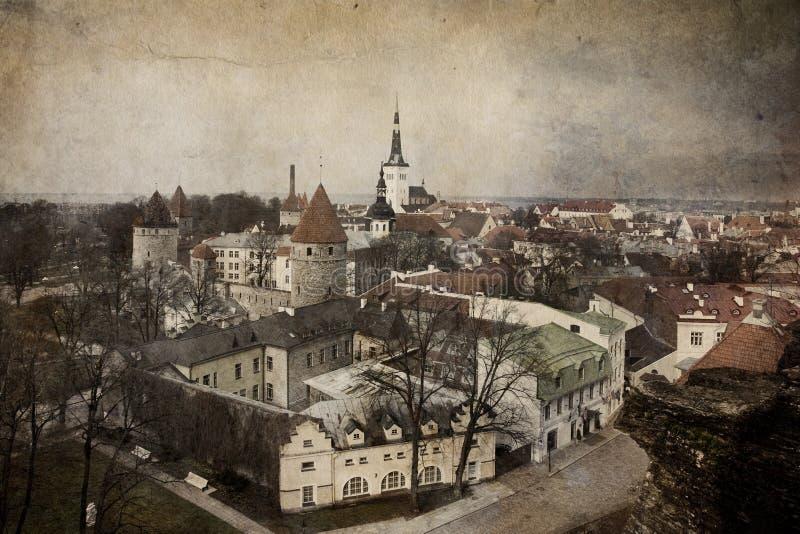 Vieux Tallinn, Estonie photos libres de droits