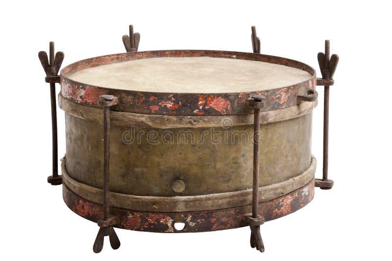 Vieux tambour de piège photo stock