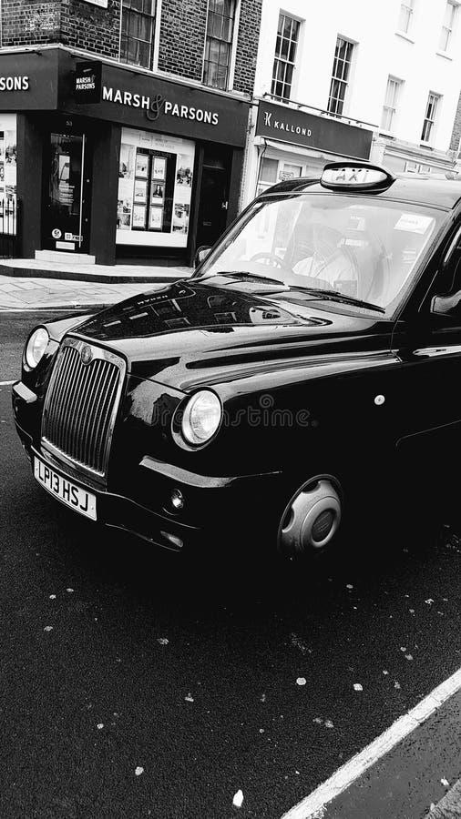 Vieux taxi image stock