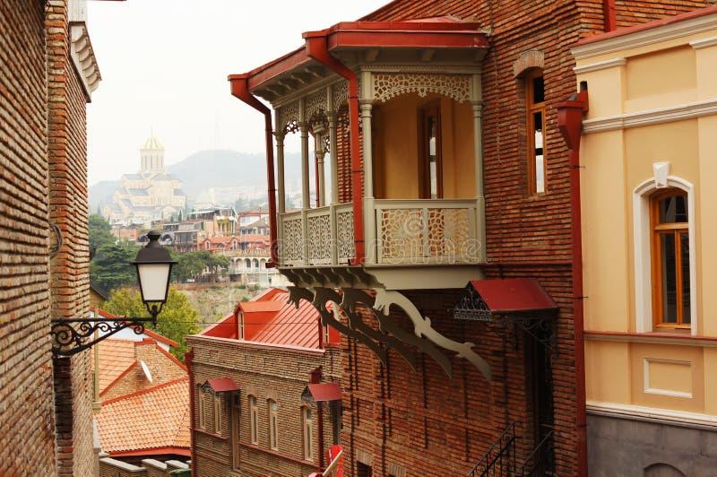 Vieux Tbilisi photo libre de droits