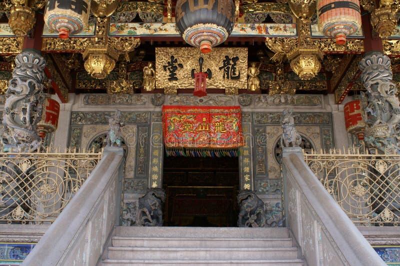 Vieux temple chinois photo stock