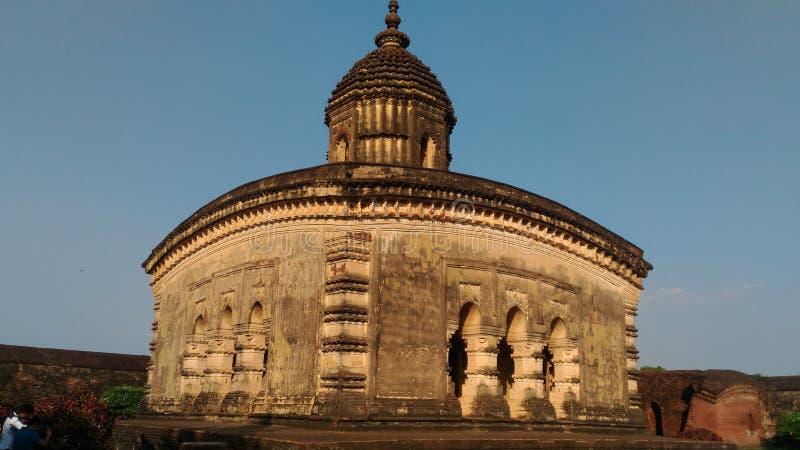 Vieux temple hindou populaire photographie stock