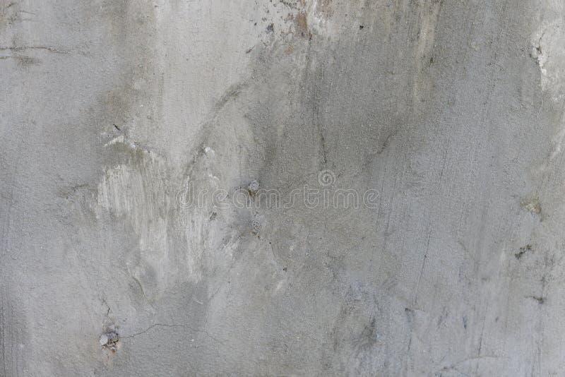 Vieux textere endommagé de fond de mur Fragments fragiles de pl?tre, ?raflures, fissures, rugosit? Concept de contexte de concept image stock