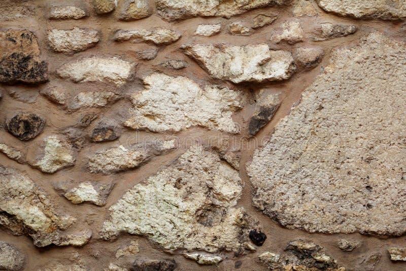 Vieux texture de mur en pierre, matériel, papier peint de modèle et fond grunges, fin  Granit naturel de mur de roche de maçonner image stock
