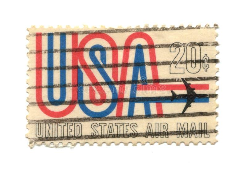 Vieux timbre-poste de cent des Etats-Unis 21 image stock