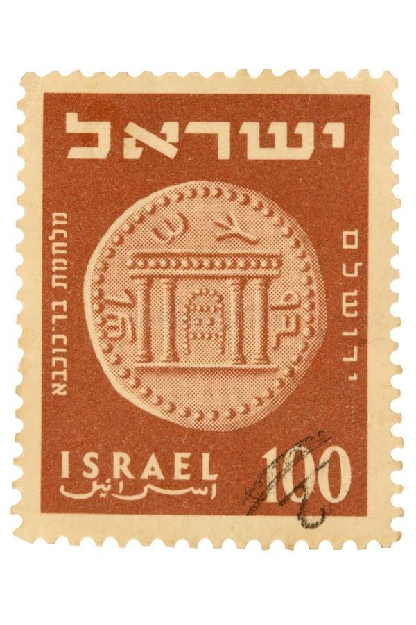 Vieux timbre-poste photo stock