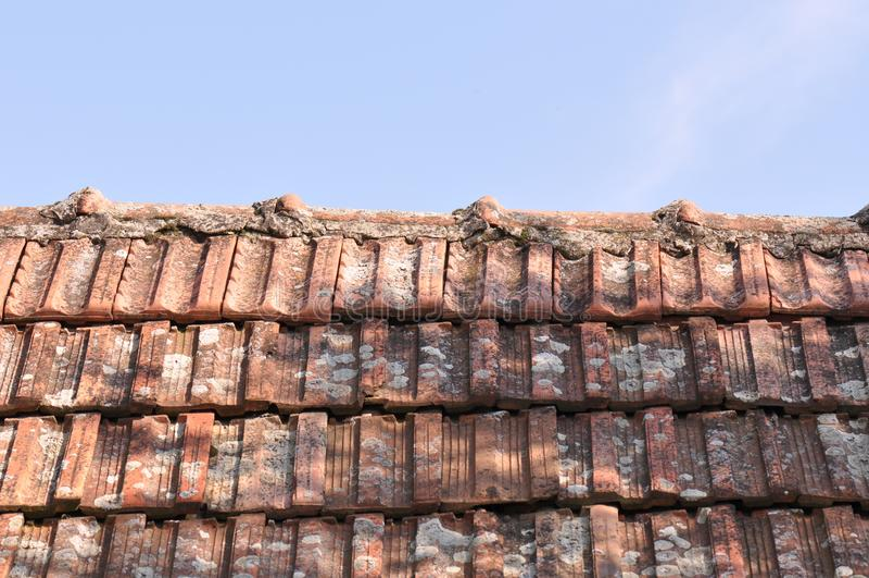 Vieux toit images stock