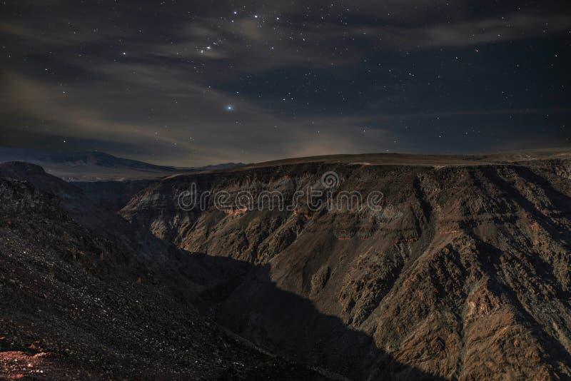 Vieux Tom Lookout la nuit photographie stock
