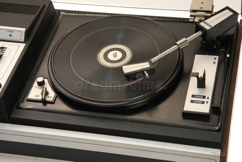 Vieux tourne-disque images stock