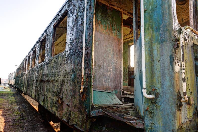 Vieux train photos stock