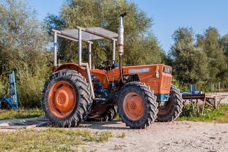 Vieux traktor images stock