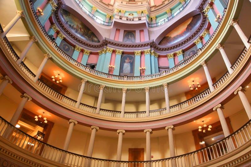 Vieux tribunal de Saint Louis photographie stock