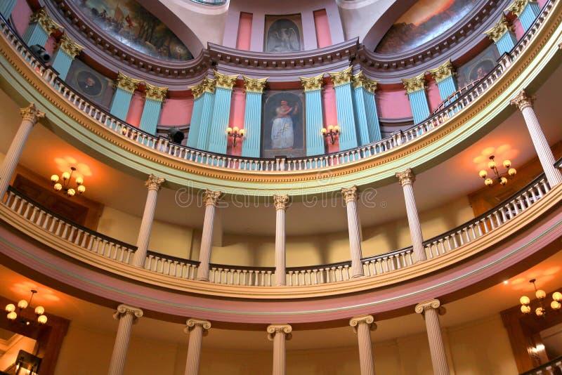 Vieux tribunal de Saint Louis image libre de droits