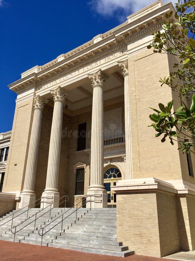 Vieux tribunal, DeLand images libres de droits