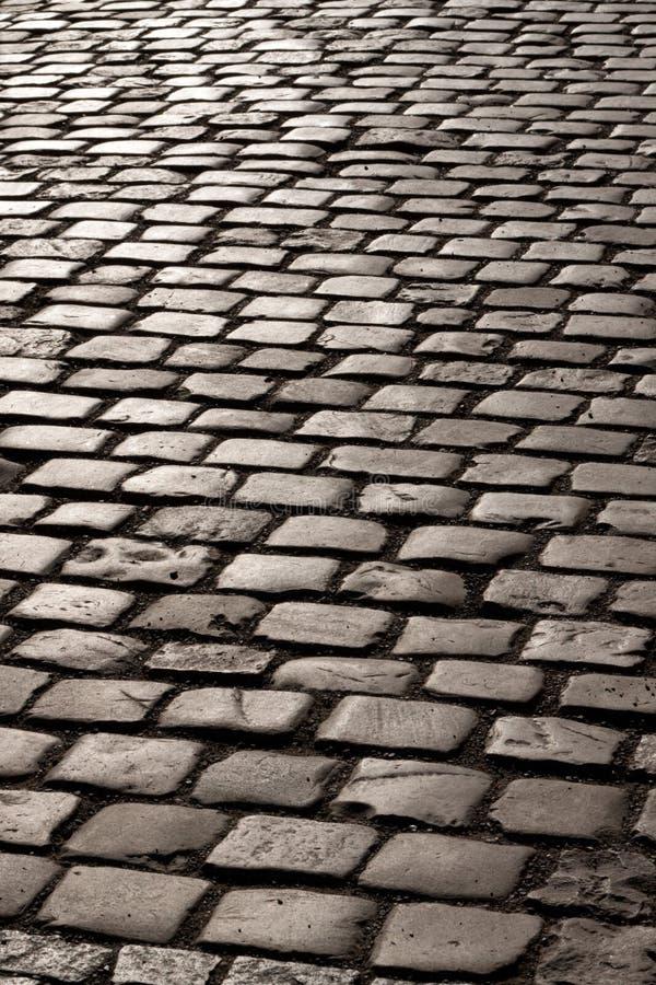 Vieux trottoir. photos libres de droits