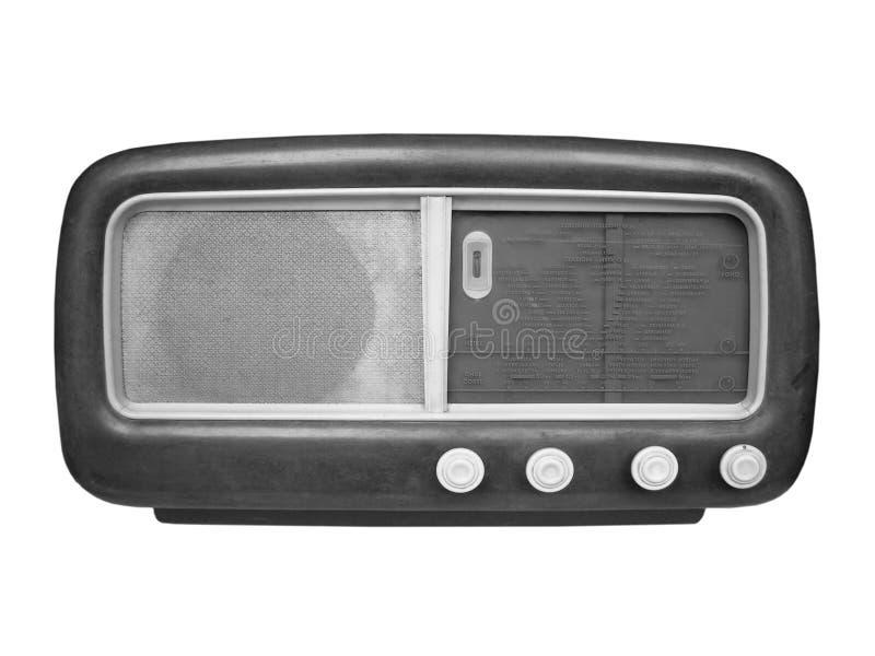 vieux tuner par radio photo stock