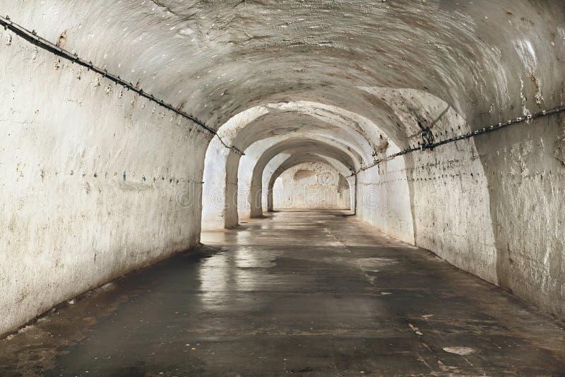 Vieux tunnels de mines photo stock