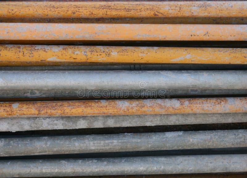 Vieux tuyaux rouillés photos libres de droits