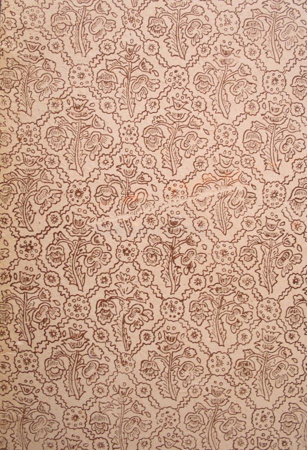 Vieux type de papier peint abstrait image stock