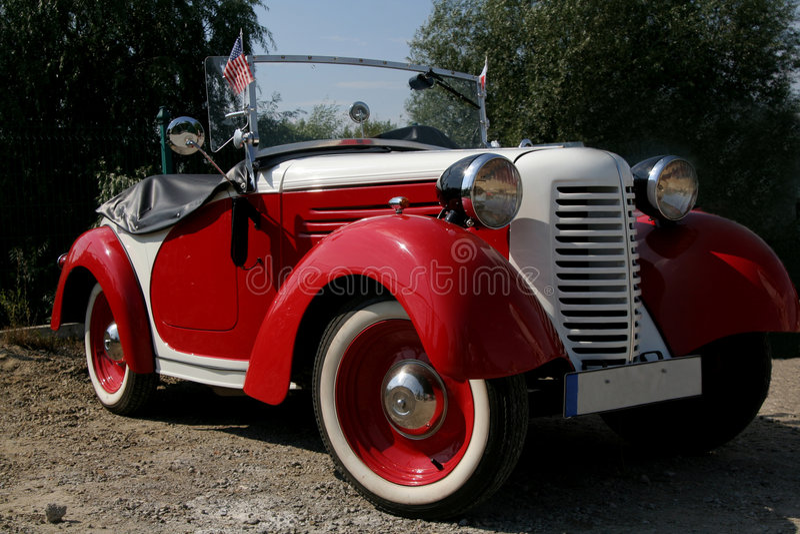 Vieux véhicule américain images libres de droits