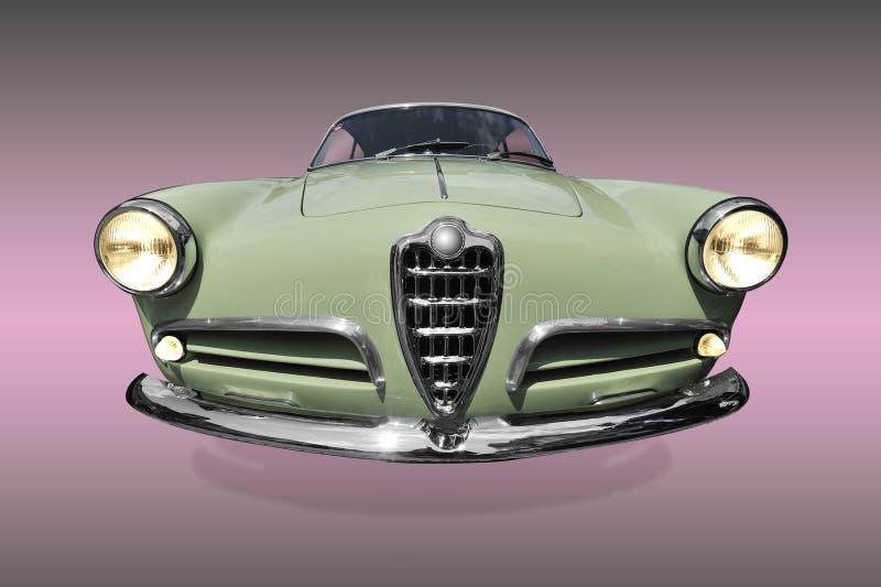 Vieux véhicule vert photographie stock libre de droits