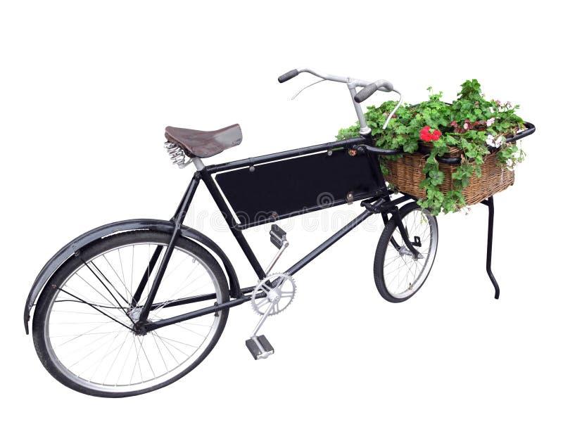Vieux vélo de la distribution. image libre de droits