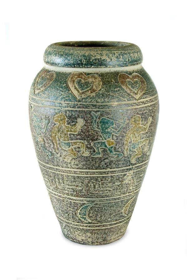 Vieux vase image libre de droits