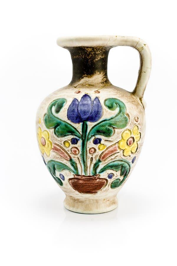 Vieux vase photo libre de droits