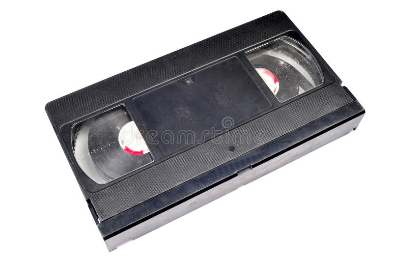vieux VHS de bande images libres de droits