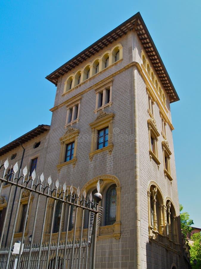 Vieux Vic de construction espagnol photo libre de droits