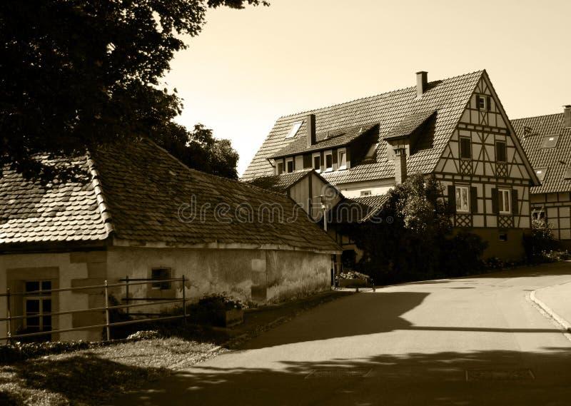 Vieux village photo libre de droits