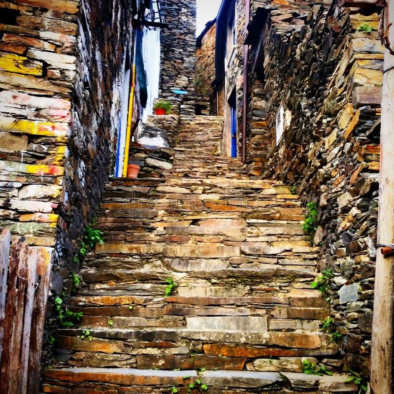 Vieux village photo stock
