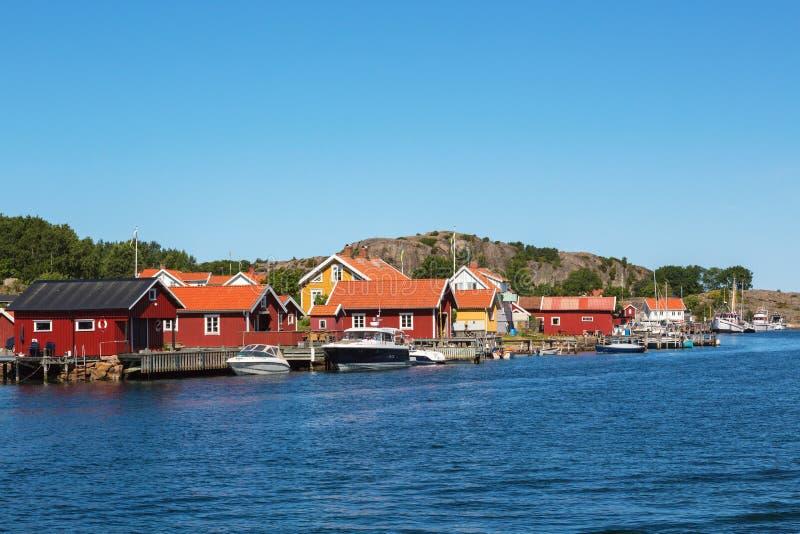 Vieux village de pêche images stock