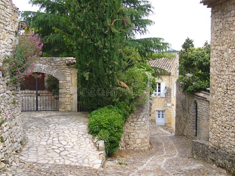 Vieux village en France photographie stock libre de droits