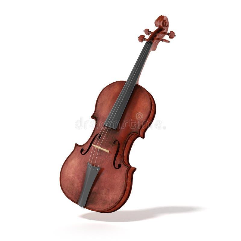 Vieux violon illustration libre de droits