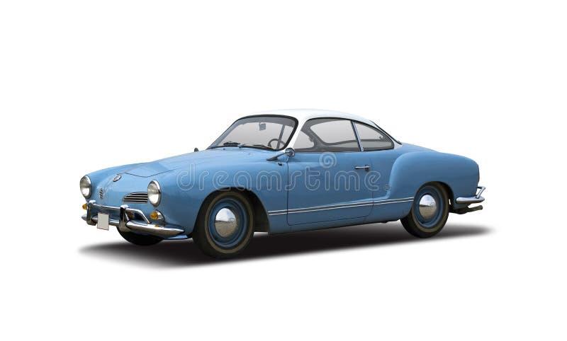 Vieux VW classique Karmann Ghia de voiture photographie stock libre de droits