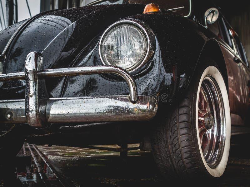 Vieux VW Volkswagen Beetle images libres de droits