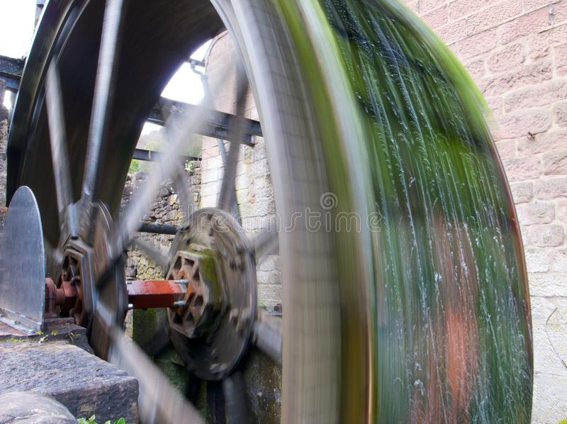 Vieux waterwheel photo stock