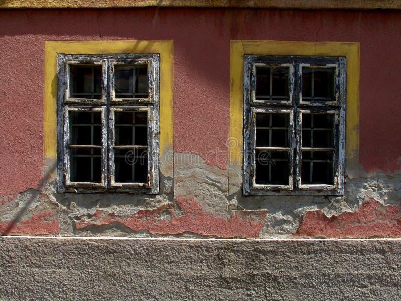 Vieux Windows images libres de droits