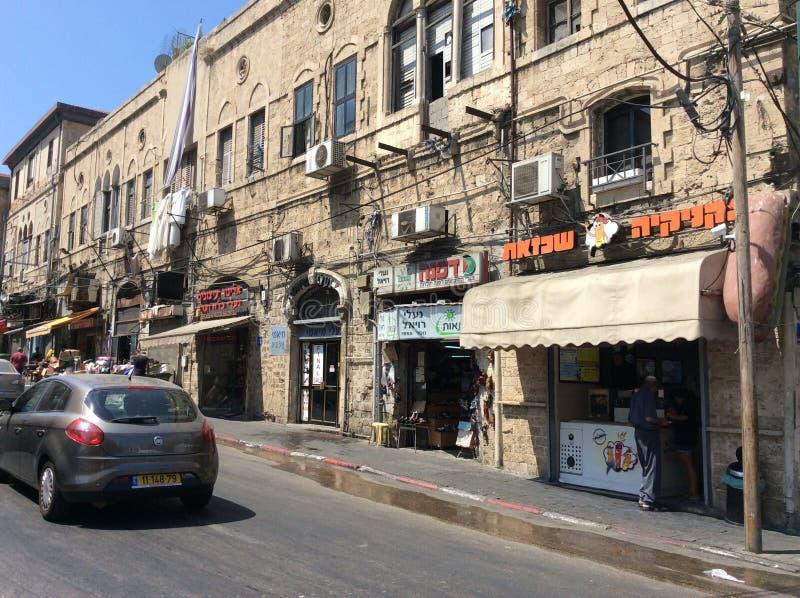 Download Vieux Yaffo, Tel Aviv, Israël Photo stock éditorial - Image du grattoirs, antique: 77153113