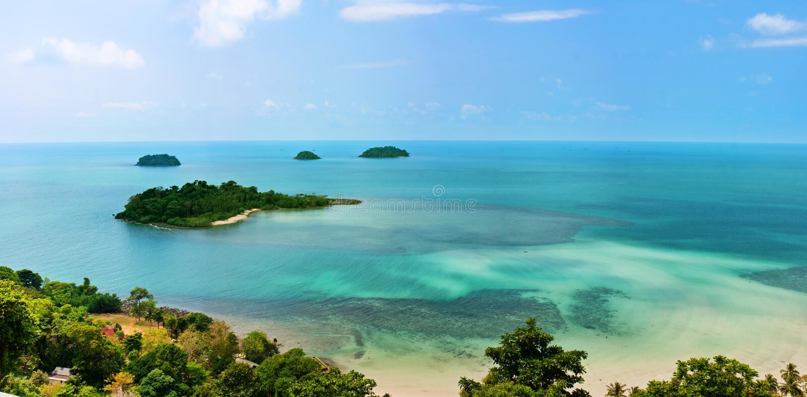 Download View stock photo. Image of island, clouds, trees, thailand - 23831356