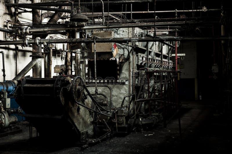 Abandoned Factory - Ferry Cap & Company - Cleveland, Ohio stock photos