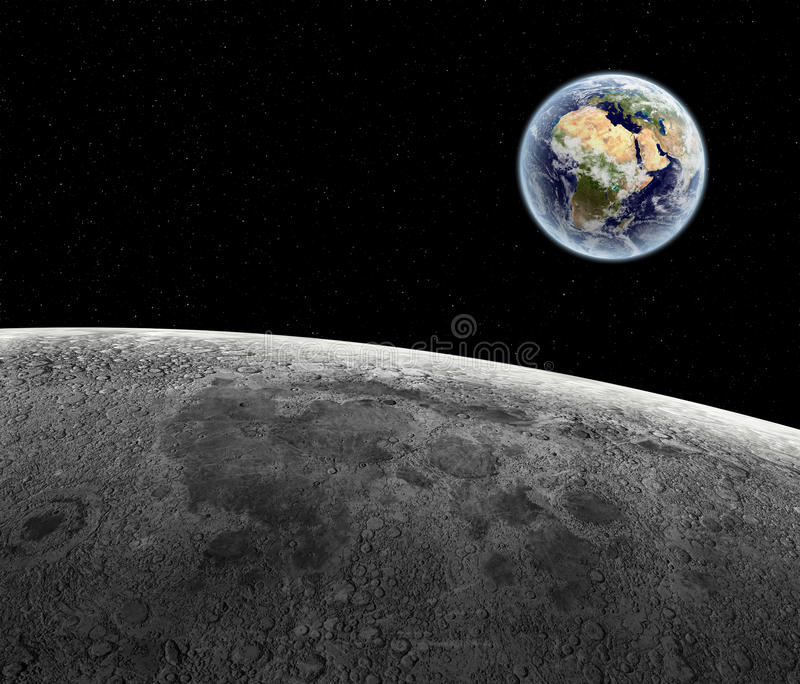 Download View above earth stock illustration. Image of land, crater - 27297532