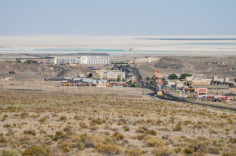Download View From Above West Wendover, Nevada Editorial Stock Image - Image: 31902459