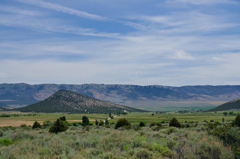 View Across the Idaho Valley royalty free stock photo