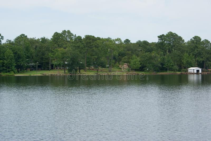 The View Across Lake Quitman In East Texas royalty free stock photos