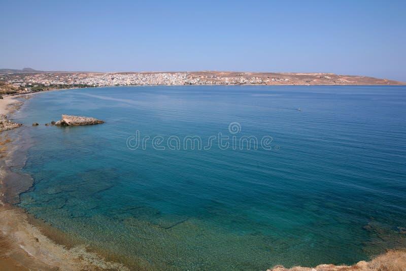 Download View across Sitia Bay stock image. Image of mediterranean - 7359425