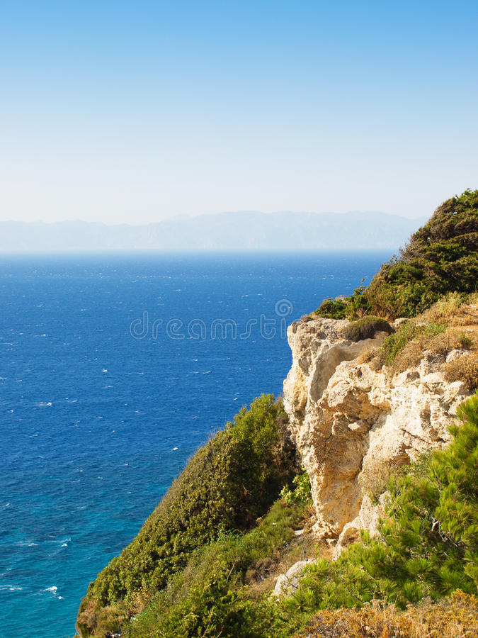 Download View at Aegean sea stock image. Image of seascape, tranquil - 10562703