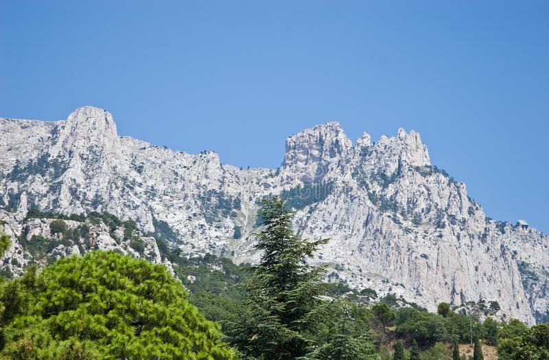 Download View Of Ai-Petri Mountain From Alupka Park Royalty Free Stock Photos - Image: 17472928